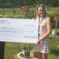 Southampton Hospital charity receive donation of £2,050