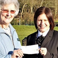 Donation of £1700 to Eastleigh Bereavement Services